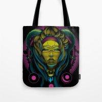 Neon Voodoo Tote Bag