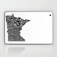 Typographic Minnesota Laptop & iPad Skin