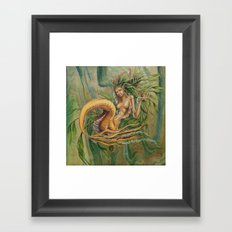 Yellow Tail Framed Art Print