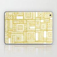 Golden Doodle Patchwork Laptop & iPad Skin