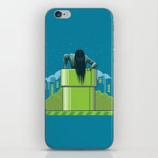 The wrong hole iPhone & iPod Skin