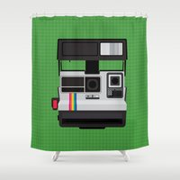 Polaroid Supercolor 635CL Shower Curtain