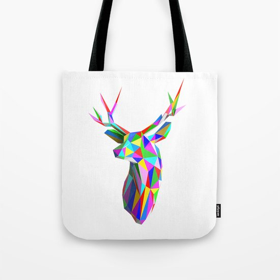 3D Stag Tote Bag