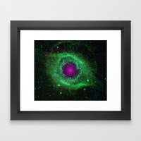 Universal Eye Framed Art Print
