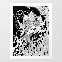 Leaving Art Print