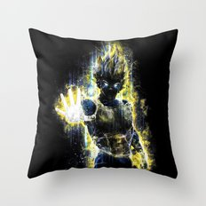 The Prince of all fighters Throw Pillow