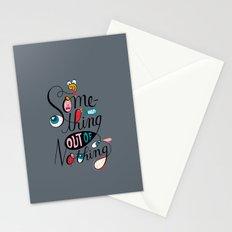 Something Out of Nothing  Stationery Cards
