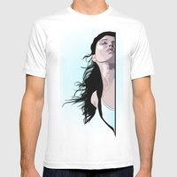 Hidden Kiss Mens Fitted Tee White SMALL