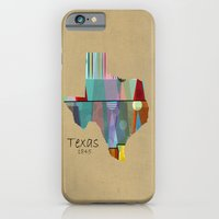 Texas state map iPhone 6 Slim Case