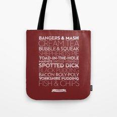 London — Delicious City Prints Tote Bag
