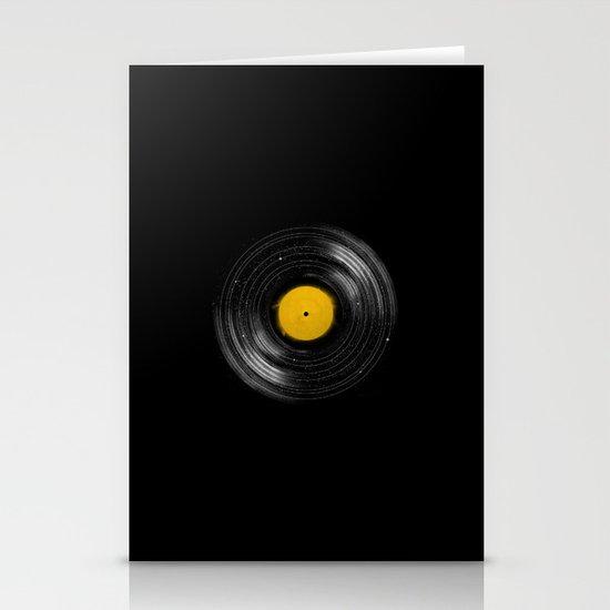 Sound System Stationery Card