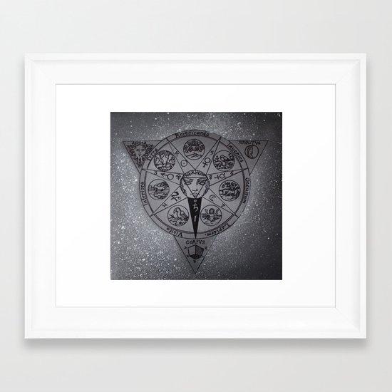 Alchemy - Painting Framed Art Print