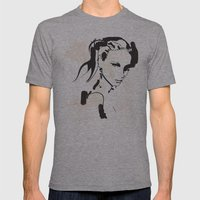 Elegance Mens Fitted Tee Athletic Grey SMALL