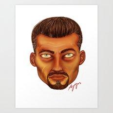 Senor Art Print