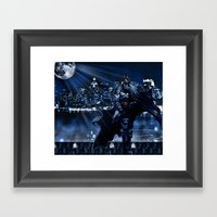 Dark Knight version 2 Framed Art Print
