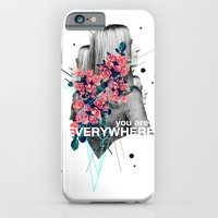 iPhone Cases featuring You Are Everywhere by Frank Moth