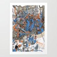 EUROPEAN JOURNAL #2 Art Print