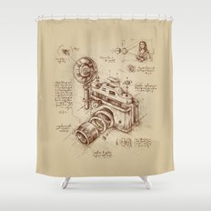 Moment Catcher Shower Curtain