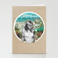 Falling Free Stationery Cards