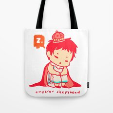 The Emperor Sleeps Tote Bag