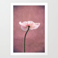 Madame Poppy Art Print
