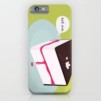 iPhone & iPod Case featuring Eat me. by Giulia Cucija