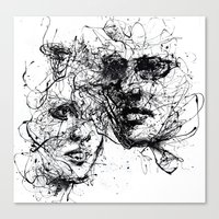 Our Lines, Our Story, It… Canvas Print