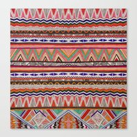 TRIBAL NOMAD Canvas Print