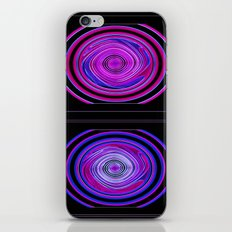 Abstract Modern Circles. iPhone & iPod Skin