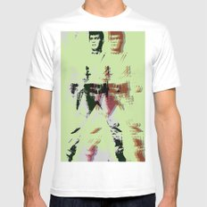 FPJ green machine Mens Fitted Tee White SMALL