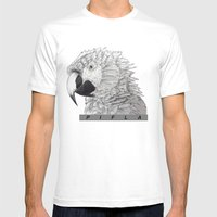 Parrot Mens Fitted Tee White SMALL