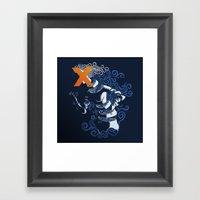 My Hideous X Framed Art Print