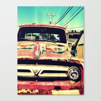 Old Things Are The Best … Canvas Print