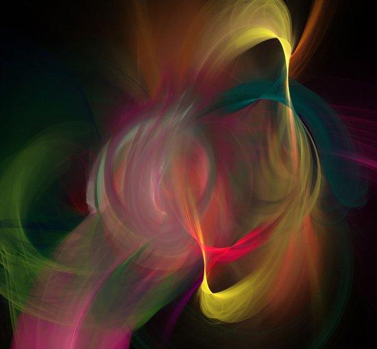 Dance of Divinity Canvas Print