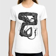 T-shirt featuring Dragon B by Natalie Hall