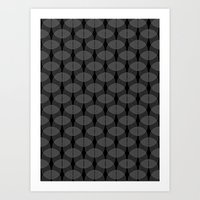 black undulation Art Print