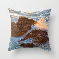 Pacifica Coast Throw Pillow
