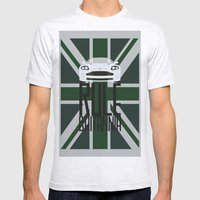 Rule Britannia Mens Fitted Tee Ash Grey SMALL