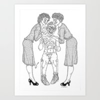 The Defamation Of Normal… Art Print