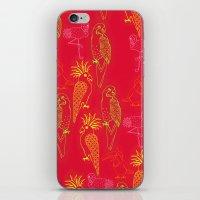 Tropical Birds - Summer … iPhone & iPod Skin