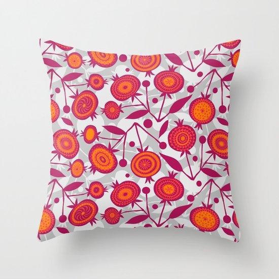 Pom Pom Throw Pillow