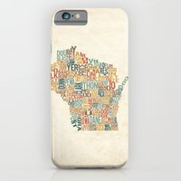 Wisconsin by County iPhone 6 Slim Case