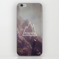 Mountain Lettering iPhone & iPod Skin