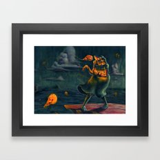 Millie the Sea Witch Framed Art Print