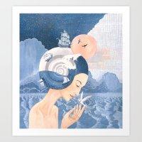 Sound of Sea Art Print