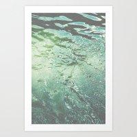 Dive In Deeper Art Print