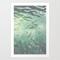Dive In Deeper Art Print