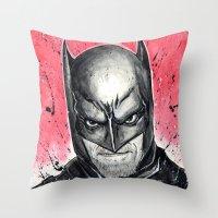 I AM THE NIGHT Throw Pillow
