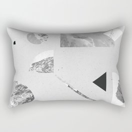 Rectangular Pillow - monochromatic - .eg.