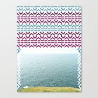 AZTEC 'Beyond The Sea' 1-2 Canvas Print